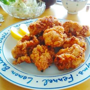 塩麹の鶏唐揚げランチとお弁当と七夕