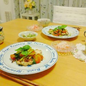 火曜日の弁当とベランダ栽培のバジル料理