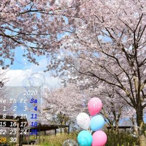 月初め恒例のカレンダー特集 4月編(*^_^*)その1
