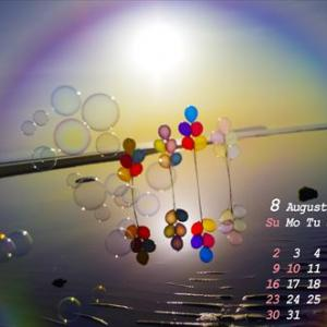8月のカレンダー特集(#^.^#)