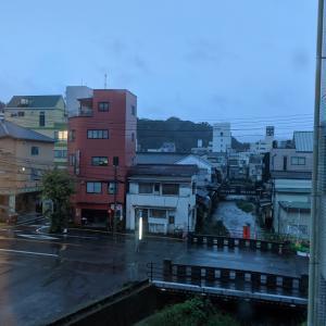 まだ 雨が・・・