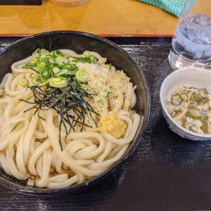 うどん生活 水曜日(*^_^*)