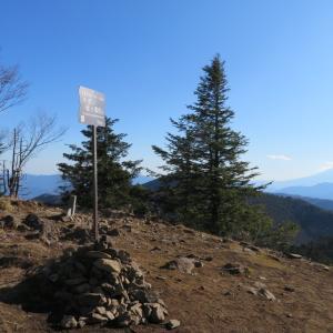 晴れた小金沢山と牛奥ノ雁ヶ腹摺山・2:開放的な大菩薩連嶺でヘタる