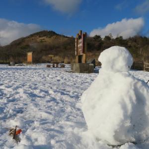 今年も行けた雪道?ドライブ・2:カモと戯れ霧ヶ峰を走る