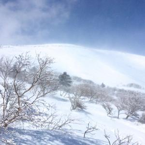 風に負けた那須岳と安達太良山・4:あの栗駒山以来の「暴風により撤退」