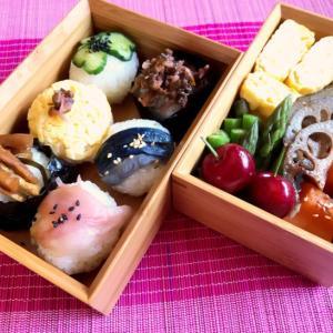 お漬け物寿司のお弁当