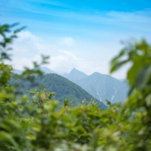 故郷の山:巻機山