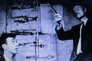 ワトソンとクリック DNA二重らせんの発見
