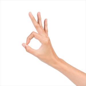 指2本である動きをすれば肩の力みがなくなります。