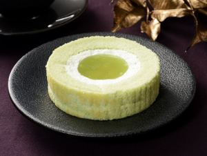 【ローソン】青りんご!?ロールケーキ