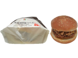 【セブンイレブン】肉×肉(牛カルビ&ハンバーグ)