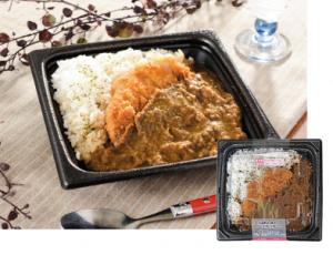 【ローソン】氷温熟成豚肉のロースカツカレー