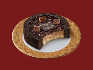【ローソン】Uchi Café×GODIVA ショコラアイスクリームロールケーキ