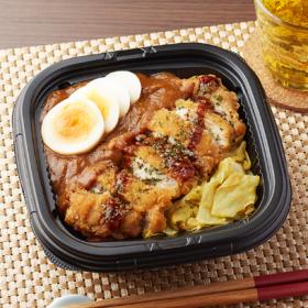 【ファミリーマート】スパイシーフライドチキン丼(カレーソース)