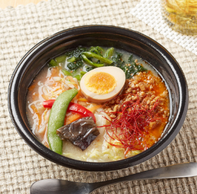 【ファミリーマート】ピリ辛担々スープごはん