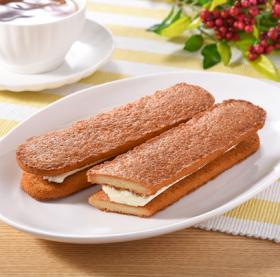 【ファミリーマート】香ばしクッキーサンド(キャラメル&バニラ)