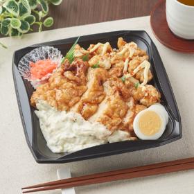 【ファミリーマート】ダブル唐揚丼(チキン南蛮&ピリ辛唐揚)
