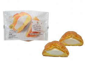 【セブンイレブン】ダブルクリームのカスタード&ホイップシュー