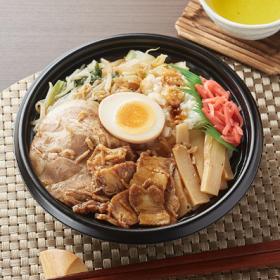 【ファミリーマート】大盛ごはん 野菜にんにくチャーシュー丼