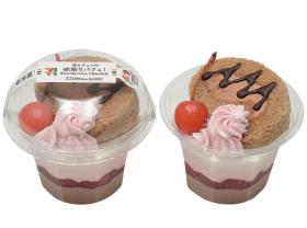 【セブンイレブン】苺とチョコの欲張りパフェ!