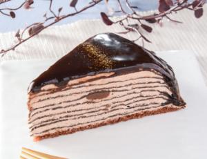 【ローソン】生チョコミルクレープ