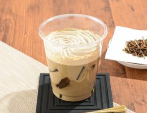 【ローソン】わらび餅ラテ ほうじ茶