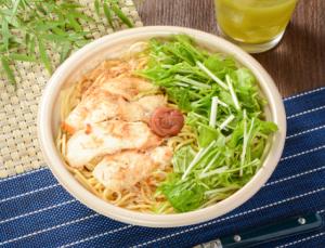 【ローソン】紀州南高梅と鶏肉のお出汁パスタ