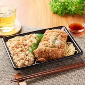 【ファミリーマート】鶏めし&みぞれチキンカツ弁当(だしぽん酢)