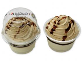 【セブンイレブン】みたらしホイップのミルクプリンケーキ