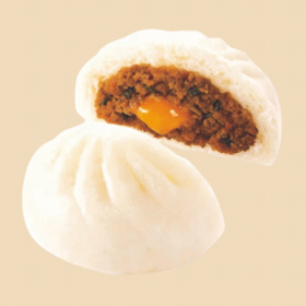 【ファミリーマート】麺屋はなび監修 台湾まぜそば風肉まん