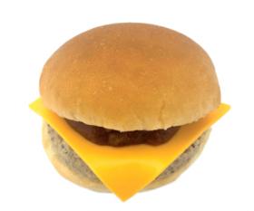 【セブンイレブン】トマトソースのチーズバーガー