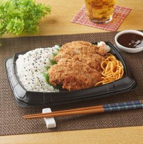 【ファミリーマート】濃厚カツソースで食べる!チキンカツ弁当