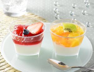 【ローソン】フルーツミルクプリン