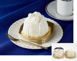 【ミニストップ】Patisserich ごろごろ栗の純白ケーキ