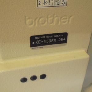 ブラザー(BROTHER)工業用電子カン止めミシンKE-430FX-05
