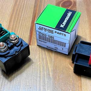 ZZR1100のスターターリレーと燃料ポンプリレー交換