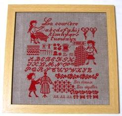 little Stitch リトルスティッチさんでサモさんのチャートが買える