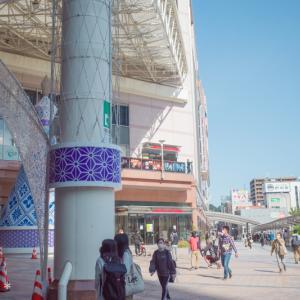 鹿児島中央駅。