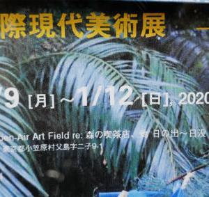 第9回国際現代美術展(小笠原)を見てきました。