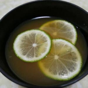 レモンの味噌汁