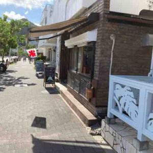CHARA日和さんで特選抹茶のかき氷を買い食い