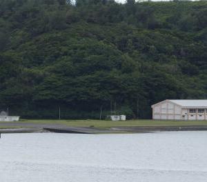 飛行艇の離着水訓練は中止