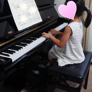 上達に驚き♪小1さんピアノ