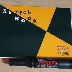 インクトーバーに備えてスケッチブックを買ってきた
