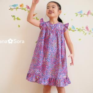 2019年春夏子供服、作り始めました♪