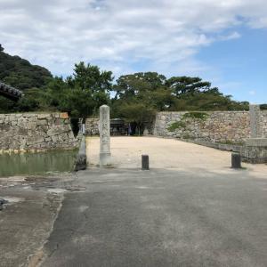 萩城跡に行きました