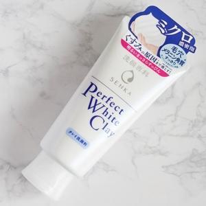 くすみの原因まですっきり!洗顔専科「パーフェクト ホワイトクレイ」♪