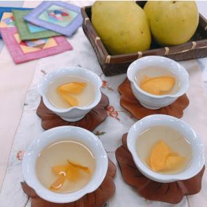 11月6日NHK学園くにたちオープンスクール「韓国伝統茶カリン茶作り」ありがとうございました