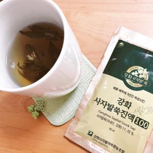 江華島の薬用よもぎ茶で血流対策 〜職場でのある1日・食事&ティータイムはこんな感じ~