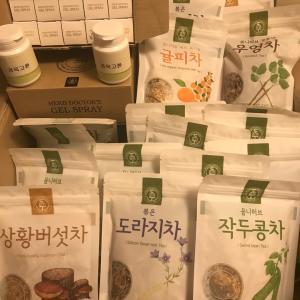 大邱・太乙養生韓医院からお茶&コスメが届きました!